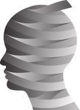 Plastic surgery head Royalty Free Stock Image