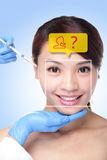 Plastic Surgery Operation Concept Stock Photography