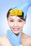 Plastic Surgery Operation Concept Stock Image