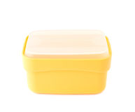 Plastic tableware food container isolated Stock Photography