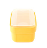 Plastic tableware food container isolated Royalty Free Stock Photography