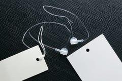 Plastic tag fastener represent the fashion retail tool. Plastic tag fastener represent the fashion retail merchandise tool royalty free stock photo