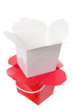 Plastic Takeaway Boxes Stock Photos