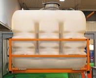Plastic Tank Stock Afbeelding