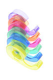 Plastic Tape Dispensers Royalty Free Stock Image