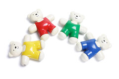 Plastic Teddy Bears Royalty Free Stock Image