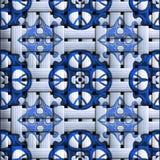 Plastic tegels als achtergrond Royalty-vrije Stock Foto's