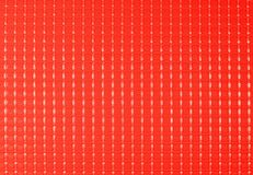 Plastic texture - red Stock Images