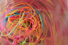 Plastic threads Stock Photos