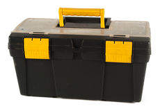 Plastic tool box Stock Image