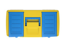 Plastic tool box Stock Images