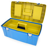 Plastic tool box Royalty Free Stock Images
