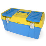 Plastic tool box Royalty Free Stock Photography
