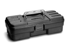 Plastic toolbox Royalty Free Stock Photos