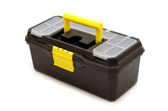 Plastic toolbox Stock Image