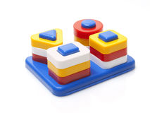 Plastic toy. On white background Stock Photo