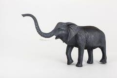 Plastic toy animal elephant Stock Photos
