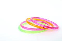 Plastic toy bangle Stock Images