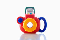 Plastic toy camera Stock Image