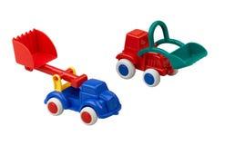 Plastic toy car Stock Photo