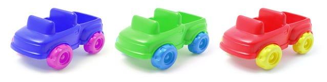 Plastic Toy Cars Stock Photo