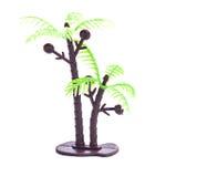 Plastic toy of coconut tree Stock Photography