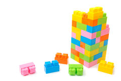 Plastic toy construction Stock Image