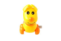 Plastic toy dog. Stock Photo