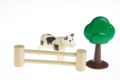 Plastic toy farm animals Stock Image