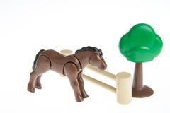 Plastic toy farm animals Stock Photography