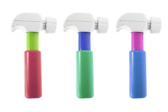 Plastic Toy Hammers Stock Image