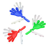 Plastic Toy Hands Stock Image