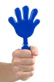 Plastic toy hands Stock Photography
