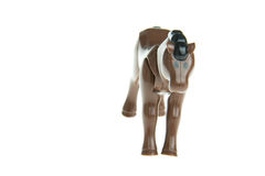 Plastic toy horse Royalty Free Stock Photos