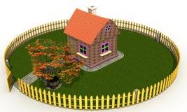 "Plastic toy house â""–3 royalty free illustration"