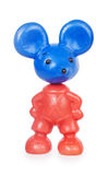 Plastic toy mouse Royalty Free Stock Images