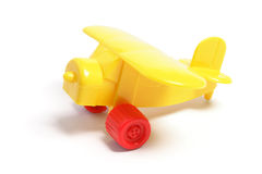 Plastic Toy Plane Stock Images