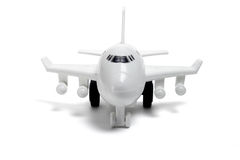 Plastic toy plane Stock Photography