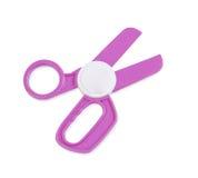 Plastic toy scissors Stock Image
