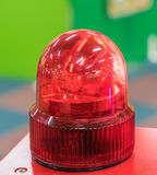 Plastic Toy Siren Ambulance light. Royalty Free Stock Images