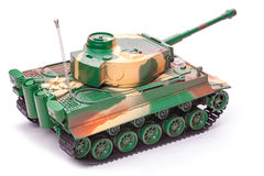 Plastic toy tank Stock Photos
