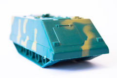 Plastic Toy Tank Royalty Free Stock Images