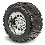 Plastic Toy Tire on white background Royalty Free Stock Photo