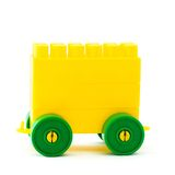 Plastic toy  trailor Royalty Free Stock Image
