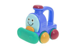 Plastic Toy Train Royalty Free Stock Photography