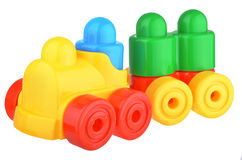 Plastic toy train stock images