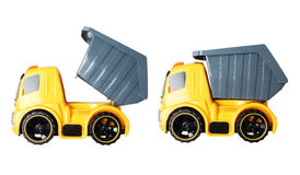 plastic toy truck for children Royalty Free Stock Image