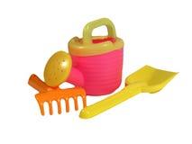 Plastic toys Stock Photo