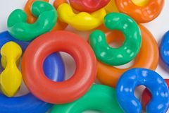 Plastic toys Royalty Free Stock Photography