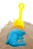 Plastic toys for beach Stock Photo